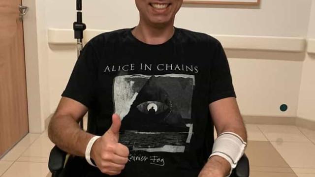 Covas é internado para última sessão prevista de quimioterapia