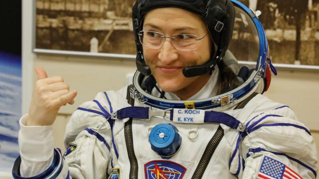Astronauta regressou à Terra após quebrar recorde no Espaço