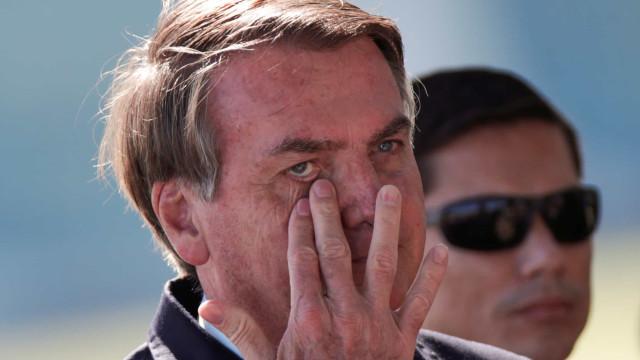 """Bolsonaro diz que Doria """"acabou com o comércio em São Paulo"""""""