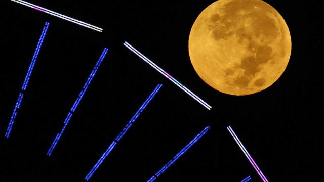 Hoje começa a 'super lua cheia', penúltima de 2020