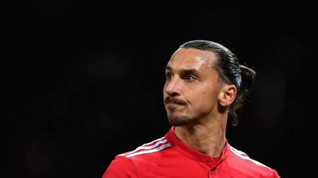 Zlatan Ibrahimovic sofre lesão durante treinamento do Milan