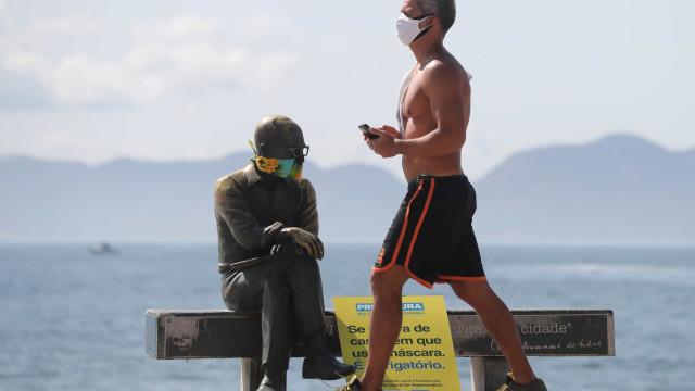 Qualidade do ar melhorou no Rio com isolamento social