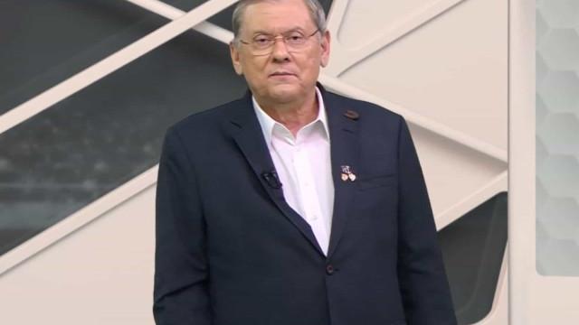 Milton Neves passa mal ao vivo e é levado às pressas para UTI