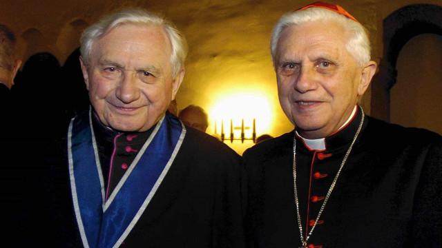 Morre Georg Ratzinger, irmão do Papa emérito Bento XVI
