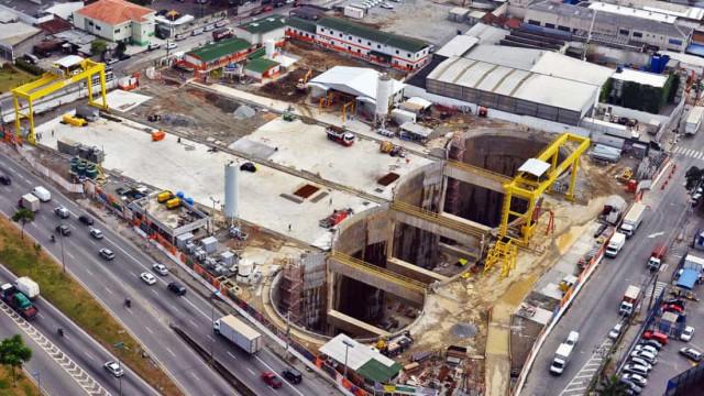 Espanhóis assinam contrato para retomar obra da linha 6 do metrô de SP