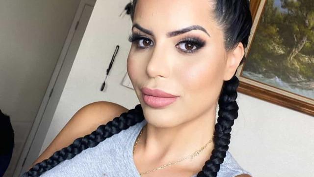Modelo Larissa Lima gasta fortuna para se parecer com Kylie Jenner