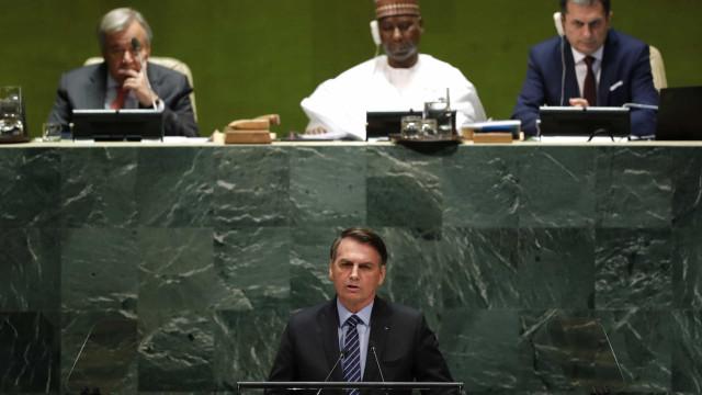 Bolsonaro vai rebater críticas na ONU