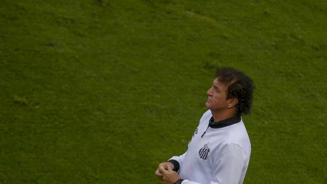 Para Marinho, Cuca é o 'presidente' do Santos