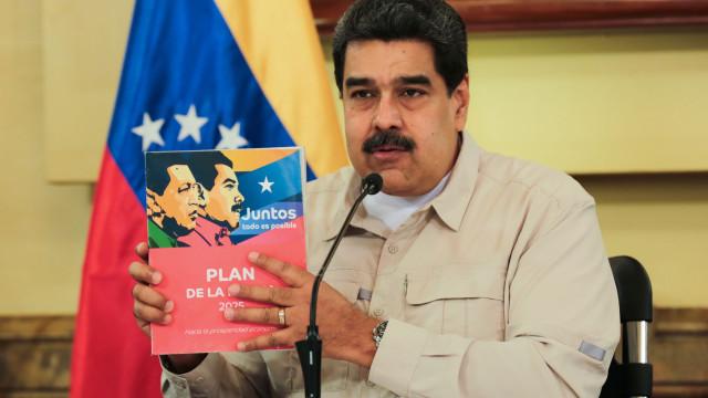 Maduro acusa EUA de dificultar a importação de alimentos e medicamentos