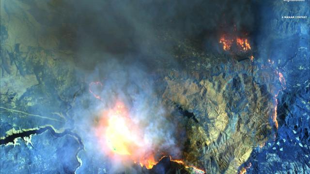 Novo balanço aponta para pelo menos 25 mortos em incêndio na Califórnia