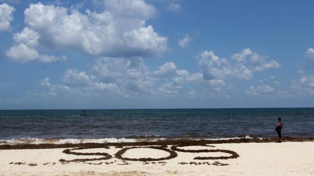 Três homens resgatados de ilha do Pacífico após escreverem SOS na areia