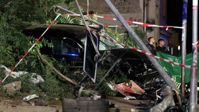Quatro pessoas morreram atropeladas por carro em Berlim