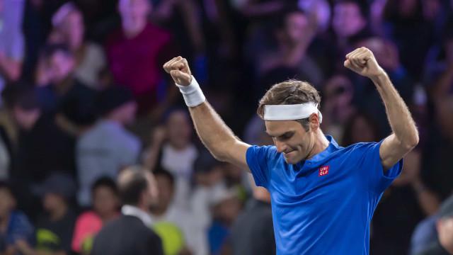 Roger Federer atinge marca histórica na carreira