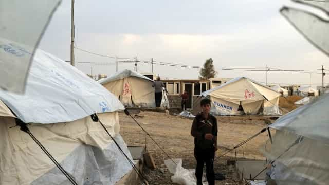Pelo menos 30 crianças mortas pelo frio em campos na Síria