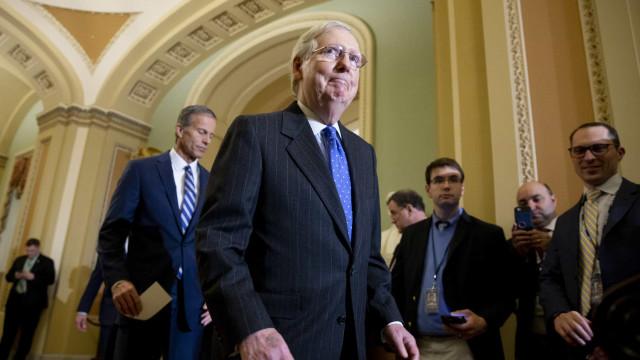 Processo do presidente dos EUA será prioridade no Senado