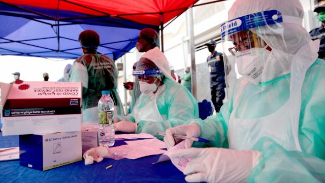 África regista 252 mortes e 13.899 novos casos nas últimas 24 horas