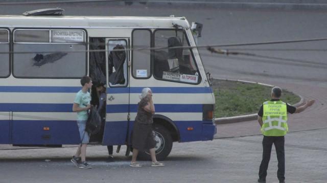 Sequestro na Ucrânia: 12 horas depois, foram libertados todos os reféns