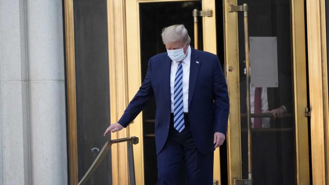 Trump tem alta hospitalar após três dias internado