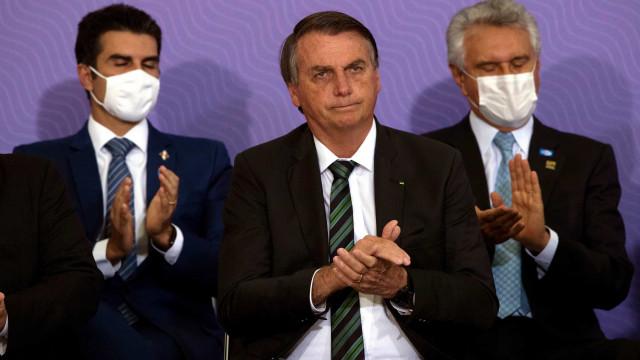 """Bolsonaro diz que o Brasil está """"uma maravilha"""""""