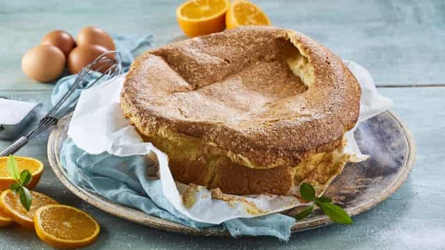 Aprenda a fazer um delicioso Pão de ló de laranja