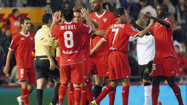 Sevilla goleia o Celta e deve decidir a Copa do Rei com o Barcelona