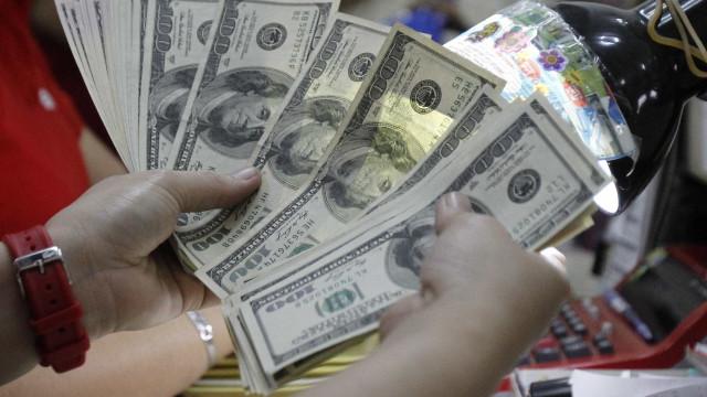 Entrada de dólares supera saída em US$ 762 milhões