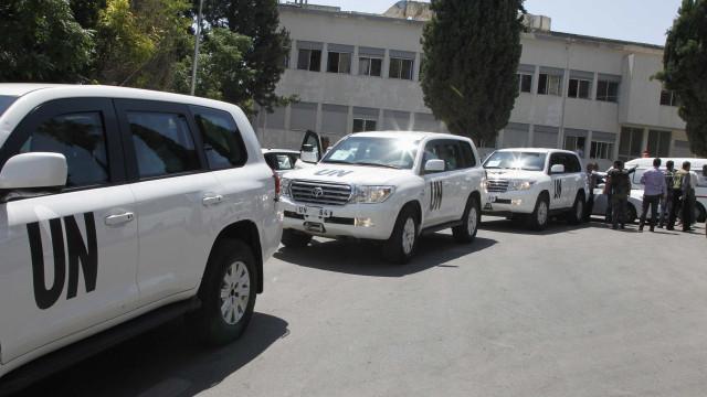 Síria: peritos da ONU regressam na quarta-feira a Damasco