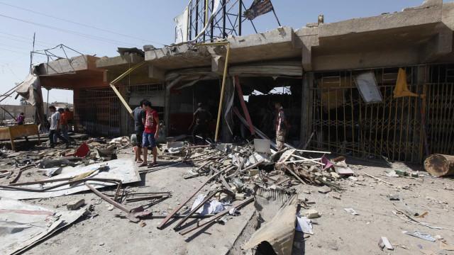 Explosão mata 9 em cidade síria na fronteira com a Turquia
