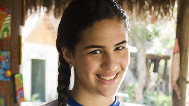 Livian Aragão comenta atuação ao lado de feras de 'Flor do Caribe'