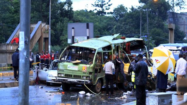 Ataque terrorista mata pelo menos quatro pessoas em Nairobi