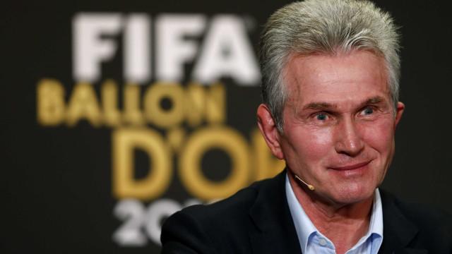 Heynckes é eleito melhor técnico de 2013 pela Fifa