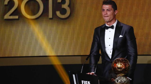Cristiano Ronaldo eleito o melhor jogador do ano