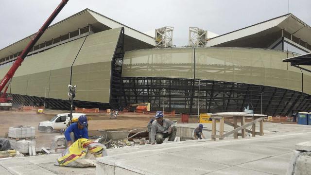 Quase sete anos após a Copa de 2014, Arena Pantanal ainda está inacabada