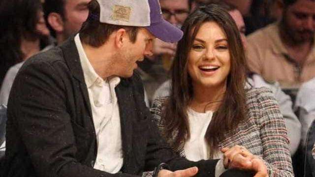 Mila Kunis está adorando a gravidez por conta dos seios grandes