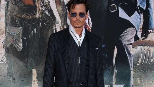 Johnny Depp quer ter mais filhos