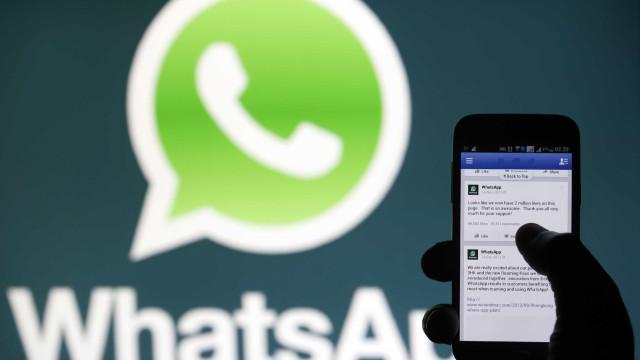Facebook cria botão para acionar empresas no WhatsApp