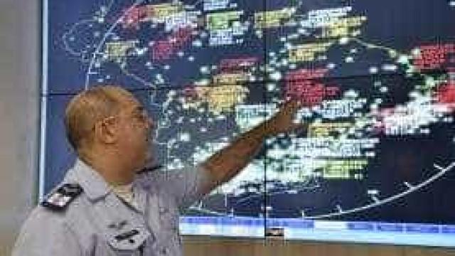 Entra em operação o esquema de controle aéreo para a Copa