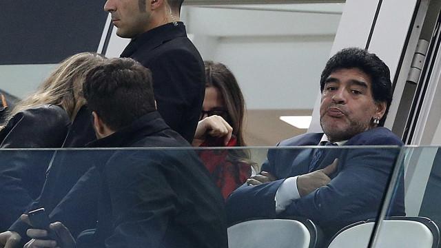 """Filha de Maradona 'explode' após áudio do médico: """"É um filho da p***"""""""
