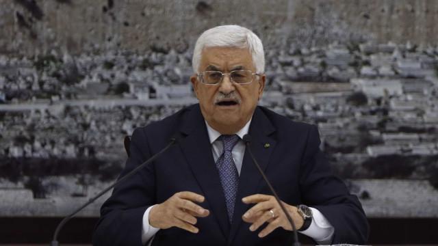 Presidente palestino diz não confiar no novo plano de paz dos EUA