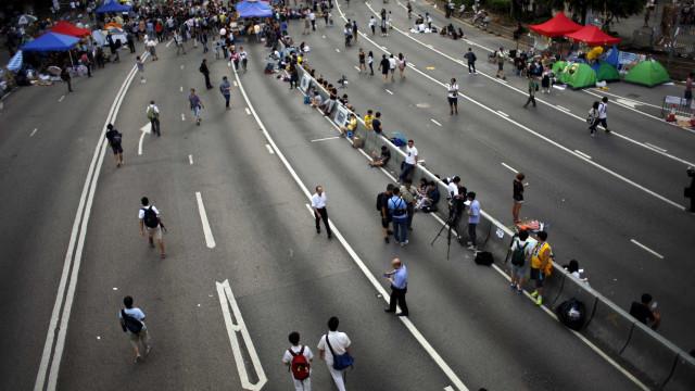 Hong Kong: protestos podem prejudicar a economia