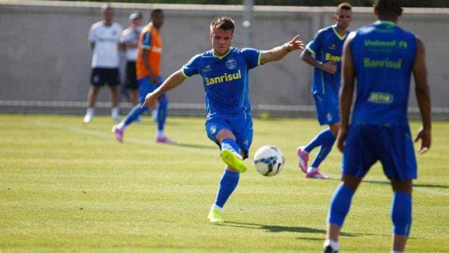 Titulares do Grêmio treinam e Yuri Mamute ainda é dúvida