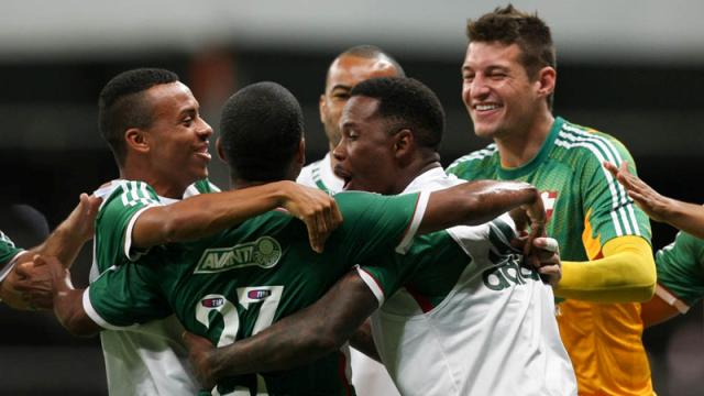 Com gol de Mazinho, Palmeiras bate Bahia na Arena
