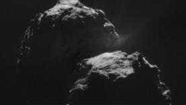 """Agência Espacial Europeia capta """"canto"""" de cometa"""