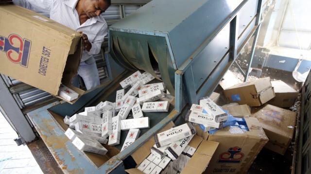 Receita bate recorde em apreensão de mercadorias irregulares