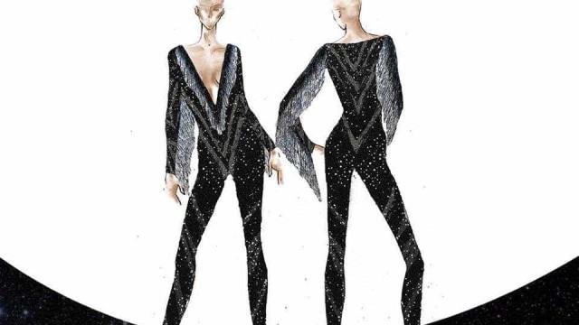 Ivete Sangalo apresenta figurino do 'Rock In Rio' Las Vegas