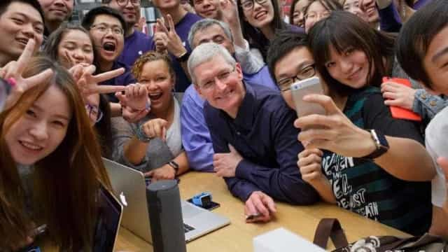 Apple pode perder fatia de mercado na China