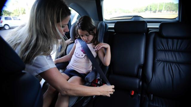 Uso de cadeirinha no carro reduz as mortes em 60%, afirma OMS