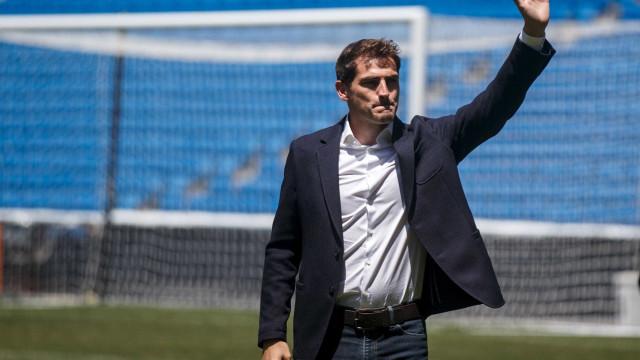 Ex-goleiro Iker Casillas retorna ao Real Madrid para ser dirigente