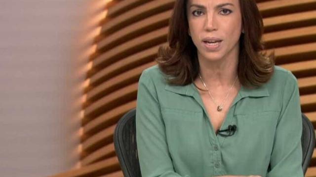 Ana Paula Araújo revela gravidez de colega ao vivo no 'Bom dia Brasil'