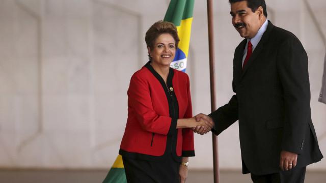 Maduro abandona almoço depois de se irritar com Dilma